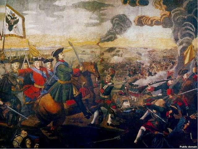 Полтавская битва -мозаичное полотно