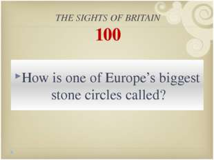 THE UNITED KINGDOM 400 What separates Great Britain from the continent?