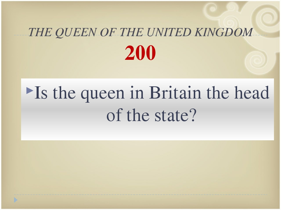 THE QUEEN OF THE UNITED KINGDOM 500 When was the Queen of the UK born?