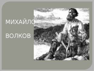 МИХАЙЛО ВОЛКОВ