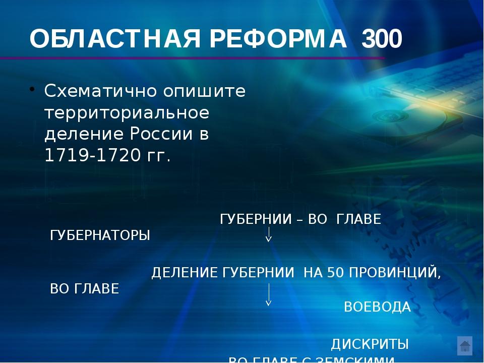 Финансовая реформа 100 Основной денежной единицей при Петре I стала … КОПЕЙКА