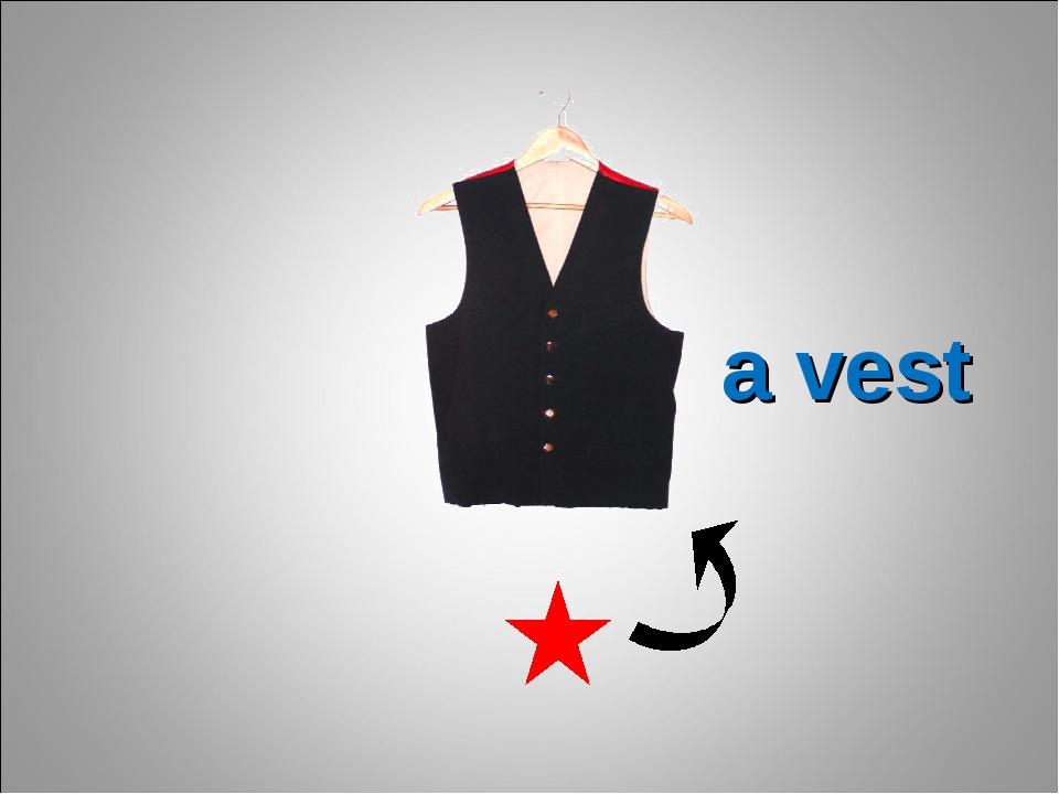 a vest