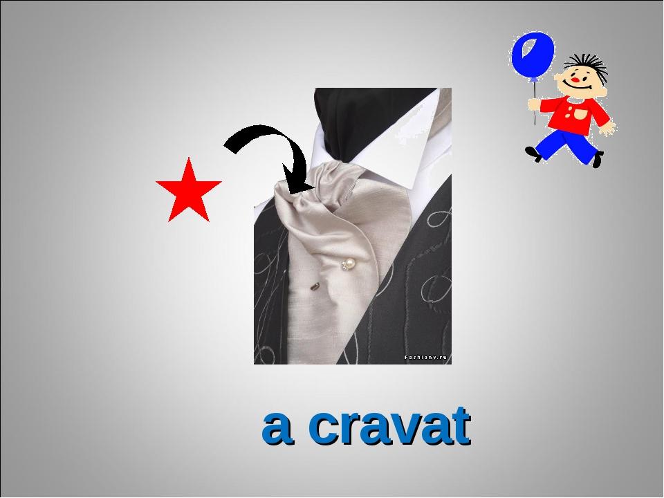 a cravat