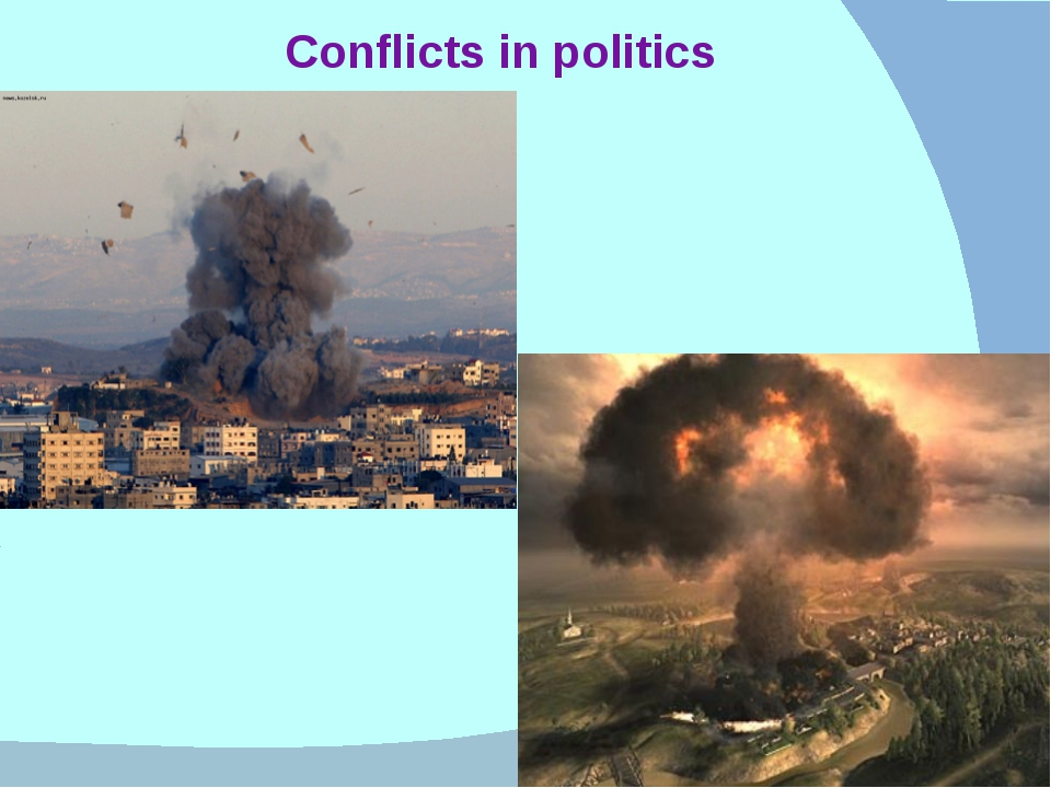Conflicts in politics