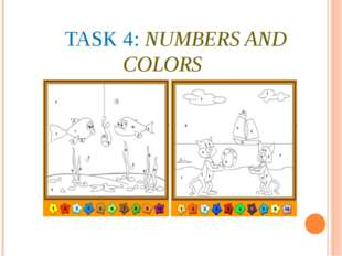 TASK 4: NUMBERS AND COLORS