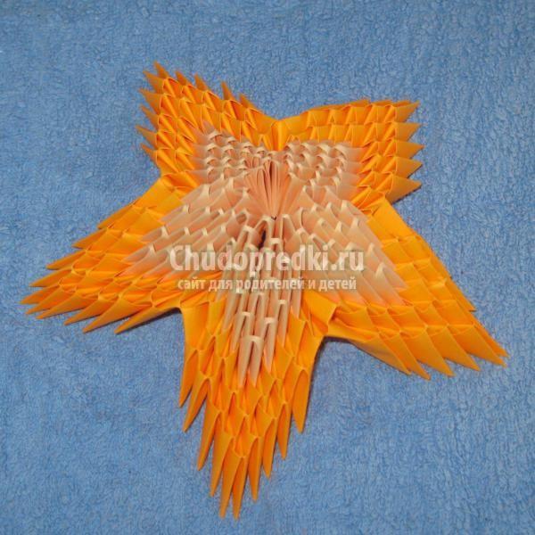 Мастер класс модульное оригами вечный огонь - Все Березники