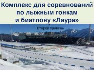 Комплекс для соревнований полыжным гонкам ибиатлону «Лаура»