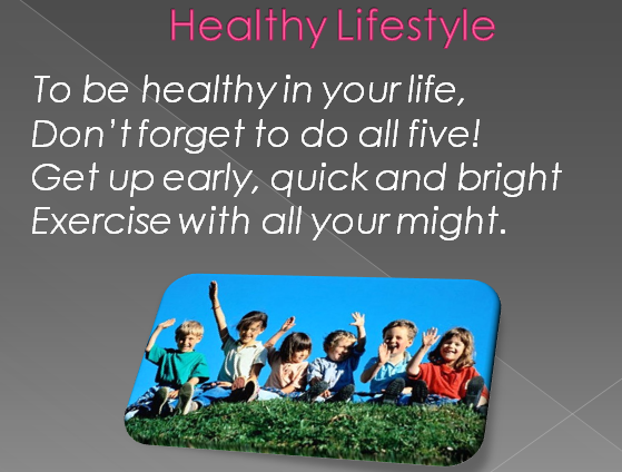 thesis statement about healthy lifestyle A healthy lifestyle is connected to eating healthy food eating healthy food is the key to a healthy lifestyle eating healthy food has proved to increase one's health tremendously.