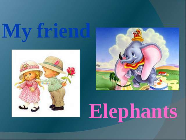 My friend Elephants