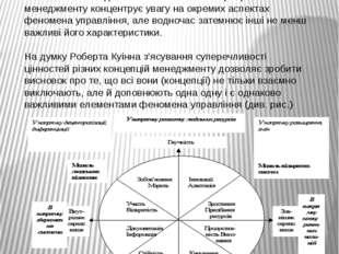 Чисельні концепції та моделі менеджменту поглиблюють наші уявлення про сутніс