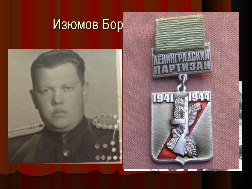 Изюмов Борис Сергеевич