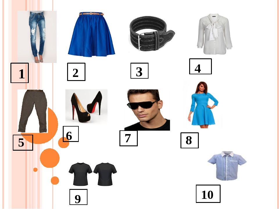 language of clothing