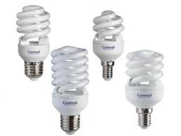 Энергосберегающие лампы New Compact Spiral T2