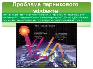 Утончение озонового слоя может привести к серьезным последствиям для человече