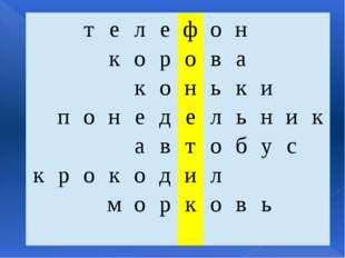 т е л е ф о н к о р о в а к о н ь к и п о н е д е л ь н и к а в т о б у с к