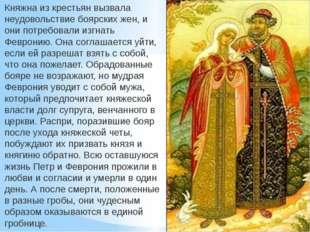 Княжна из крестьян вызвала неудовольствие боярских жен, и они потребовали изг