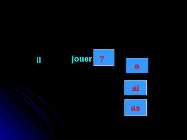 il jouer as ai a ?