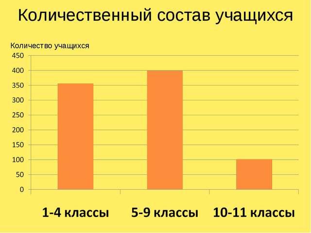 Количественный состав учащихся Количество учащихся