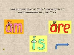 """Какая форма глагола """"to be"""" используется с местоимением I"""