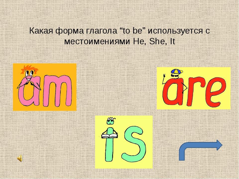 """Какая форма глагола """"to be"""" используется с местоимениями You, We, They"""