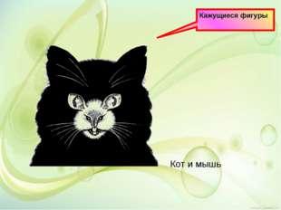 Кажущиеся фигуры Кот и мышь