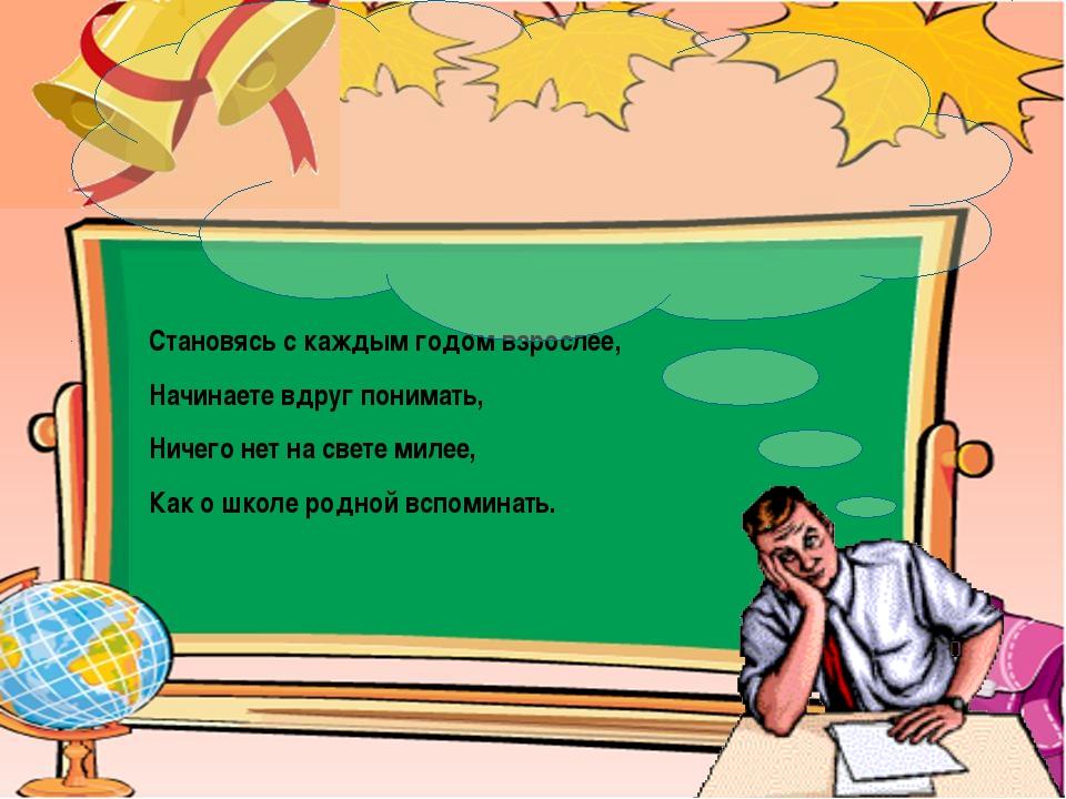 Как закончить поздравление учителю