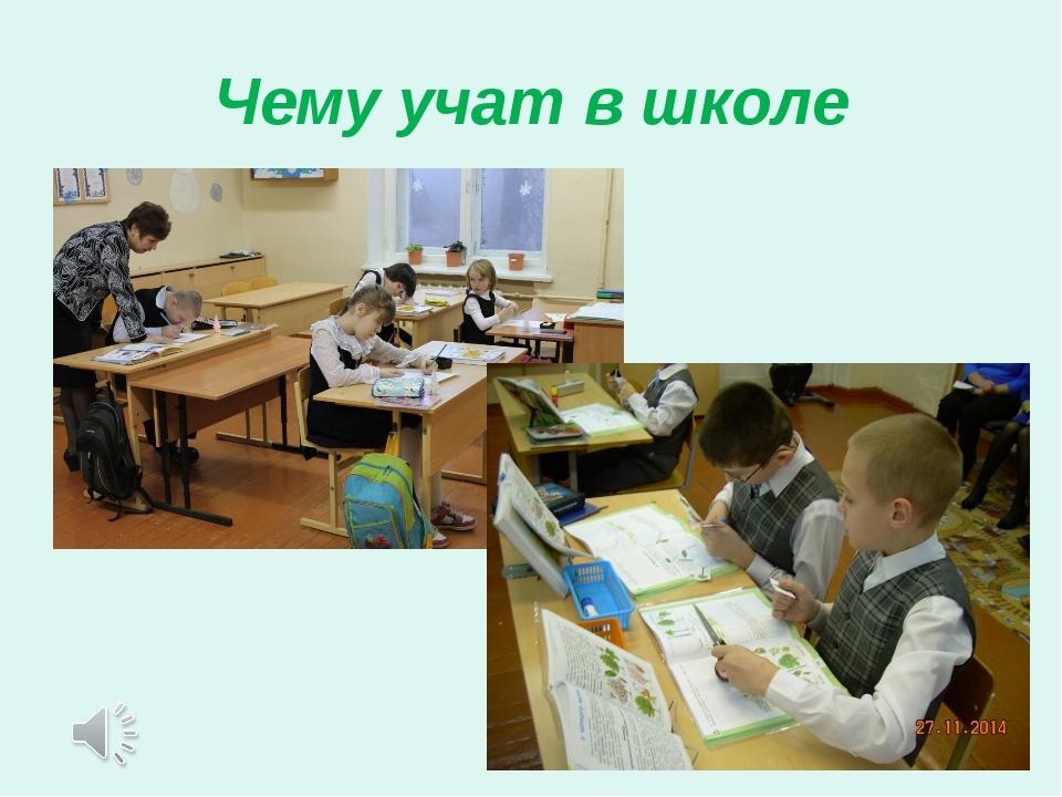 Чему учат в школе