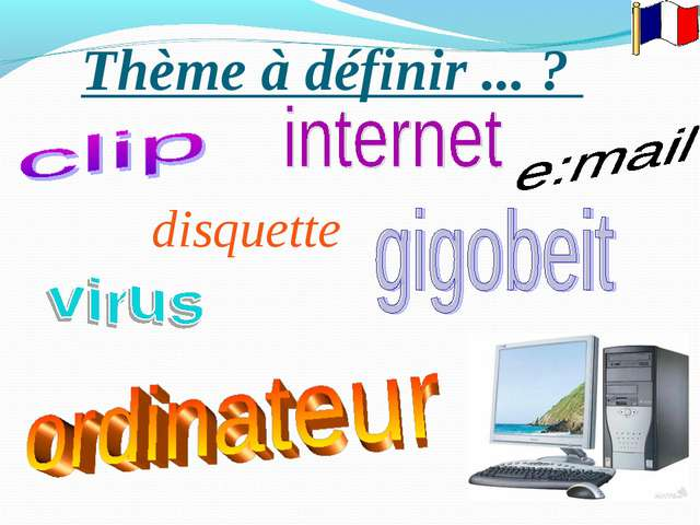 disquette Thème à définir ... ?