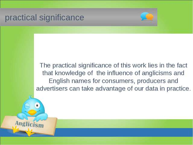 practical significance The practical significance of this work lies in the f...