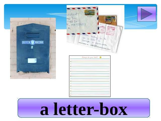 a letter-box