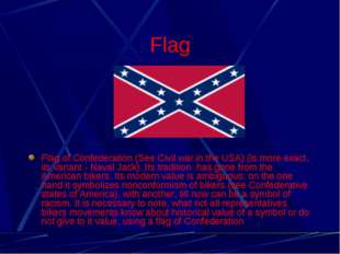 Flag Flag of Confederation (See Civil war in the USA) (is more exact, its var