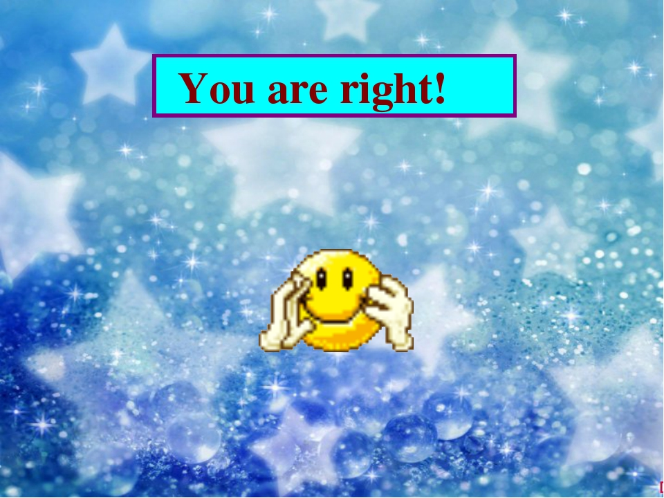 You are right!
