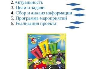 План проекта Проблема Актуальность Цели и задачи Сбор и анализ информации Пр
