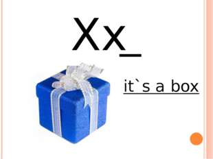 Xx it`s a box
