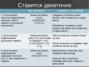 Ставится двоеточие: Как проверить Примеры с проверкой 1. Если второе простое