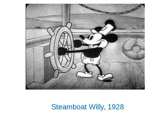 Steamboat Willy, 1928