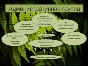 По лесоохране Авдеева Юлия По лесовосстановлению Шестакова Юлия По просветите