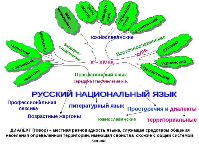 македонский ДИАЛЕКТ (говор) – местная разновидность языка, служащая средством...