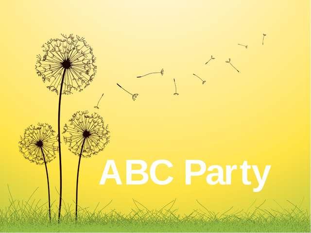 ABC Party
