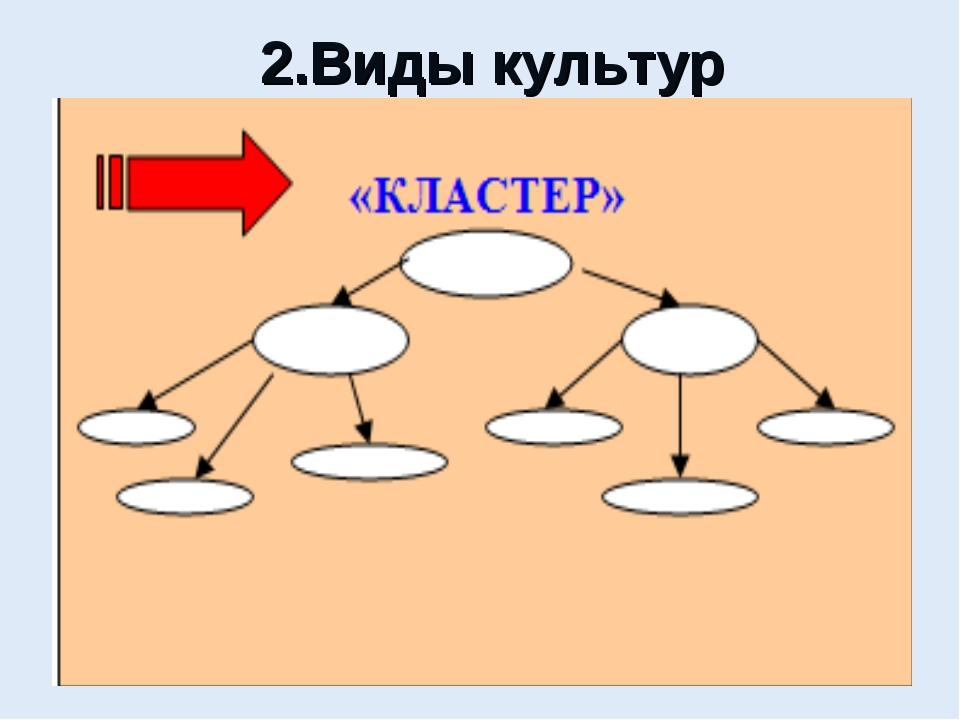 2.Виды культур