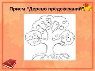 """Прием """"Дерево предсказаний""""."""