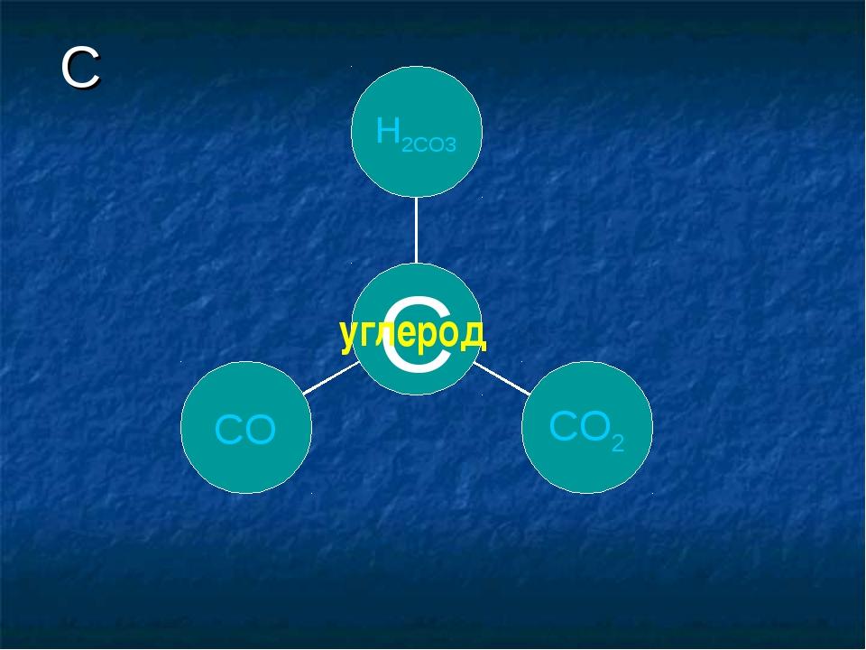 C углерод