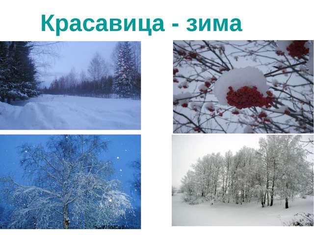 Красавица - зима