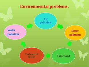 Environmental problems: