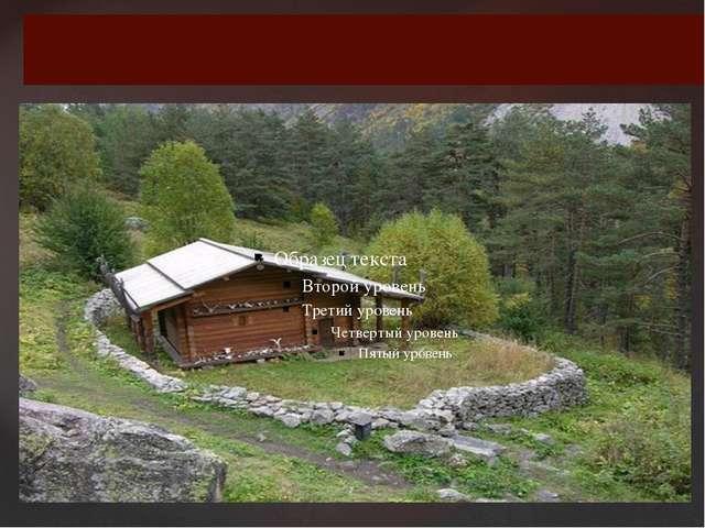 Святилище Реком в Цейском ущелье