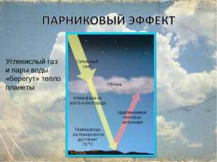 Углекислый газ и пары воды «берегут» тепло планеты *