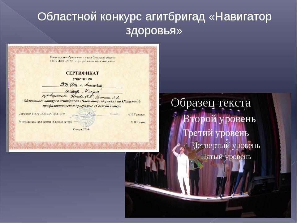 Областной конкурс агитбригад «Навигатор здоровья»