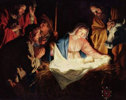 Paintings of the Birth of Christ, 1622 Gerard van Honthorst