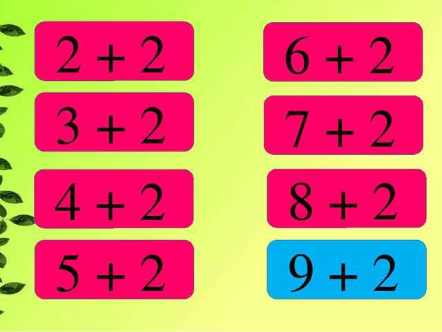 2 + 2 3 + 2 4 + 2 5 + 2 6 + 2 7 + 2 8 + 2 9 + 2