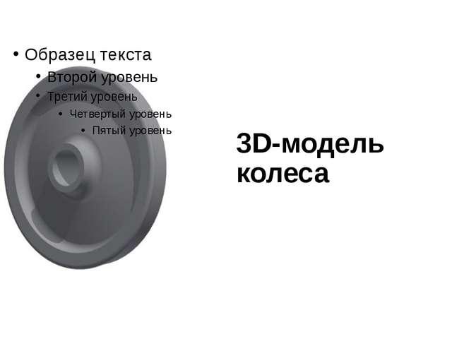 3D-модель колеса